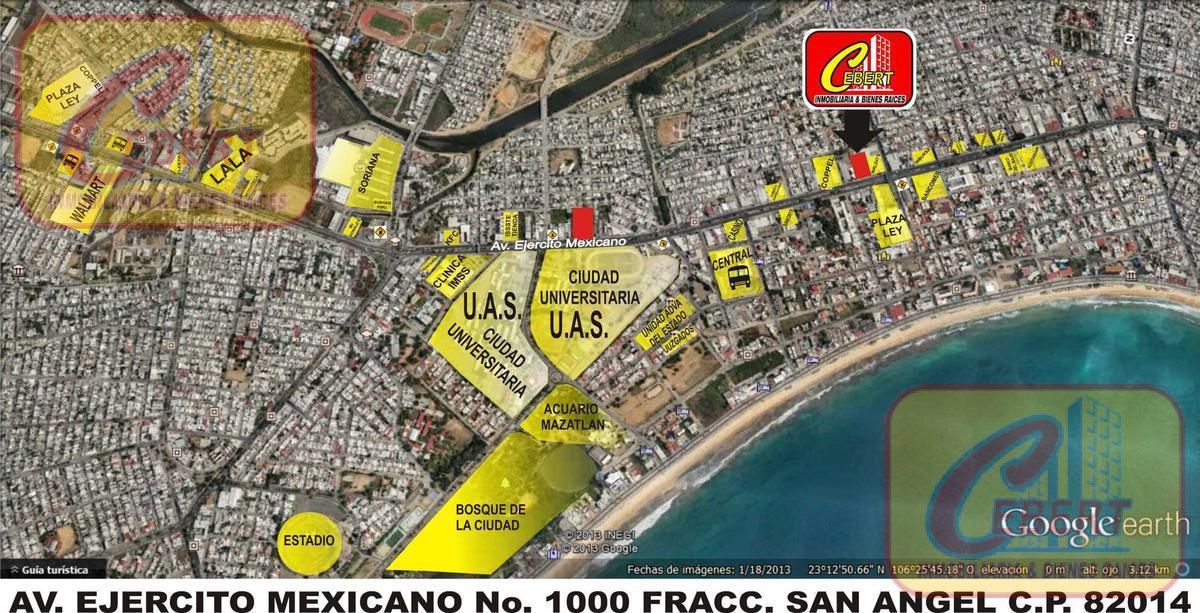 Foto Oficina en Renta en  Fraccionamiento San Angel,  Mazatlán  RENTA DE OFICINA DE 140 M2 EN MAZATLAN SINALOA