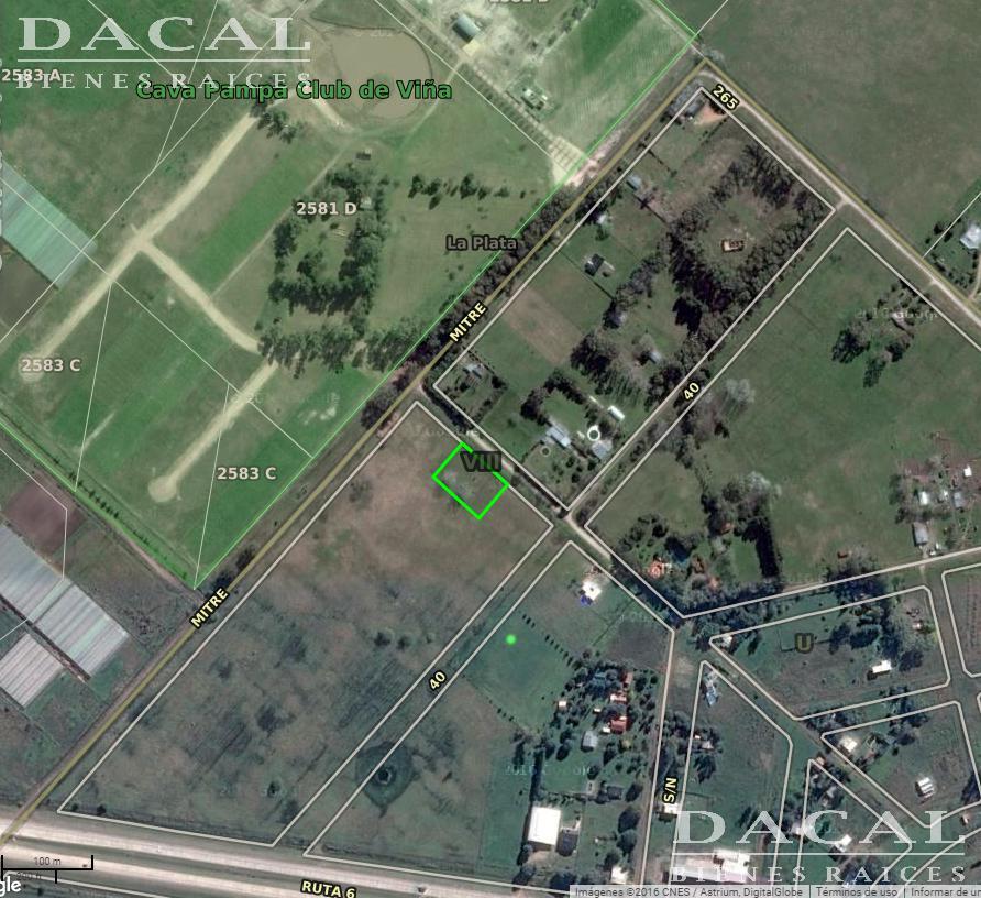 Terreno en Venta, 268 E/ 38 Y 40 - La Plata - Buenos Aires