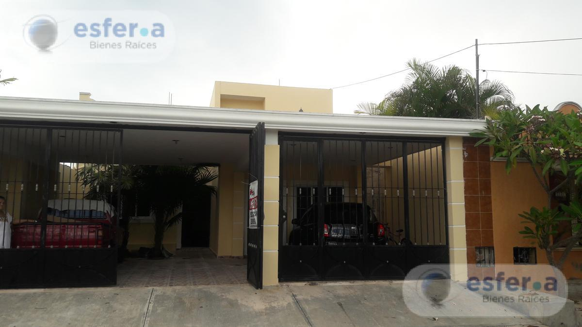 Foto Oficina en Renta en  Juan B Sosa,  Mérida  Casa en Renta a Norte de Mérida para Oficinas, 2 pisos, 4 recámaras 350m2