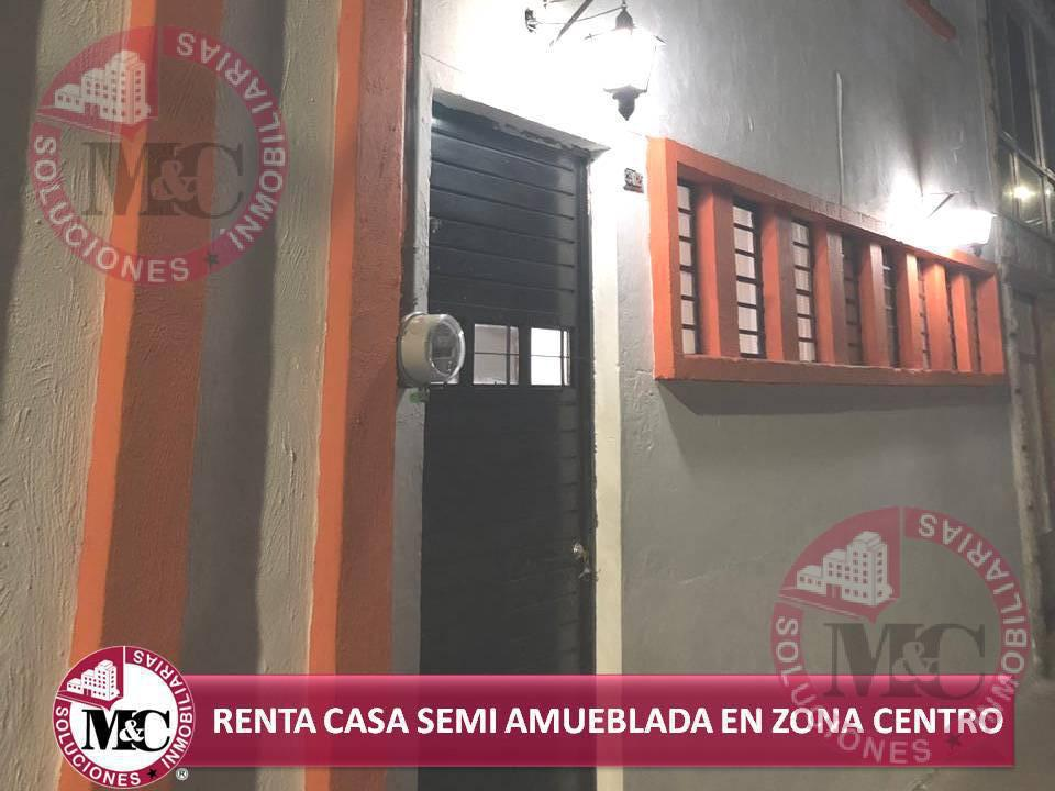 Foto Casa en Renta en  Aguascalientes ,  Aguascalientes  CASA AMUEBLADA EN RENTA EN EL CENTRO DE AGUASCALIENTES