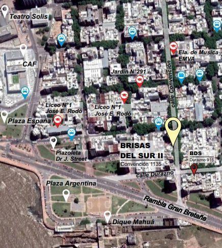 Foto Apartamento en Venta en  Barrio Sur ,  Montevideo  Convencion 1100