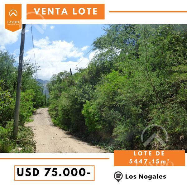 Foto Terreno en Venta en  Merlo,  Junin  Los Nogales