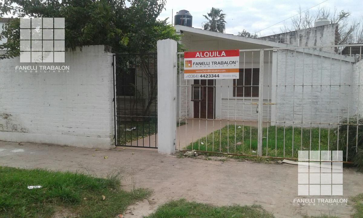 Foto Casa en Alquiler en  Belgrano,  Presidencia Roque Saenz Peña  2 e/ 9 y 11