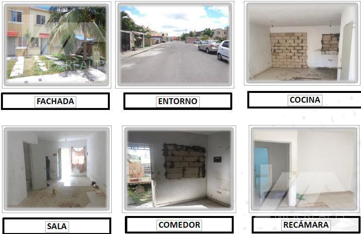 Foto Casa en Venta en  Supermanzana 107,  Cancún  Casa en Venta en Cancun FRACCIONAMIENTO URBI Casa Clave 54645  CALLE ASCORZA