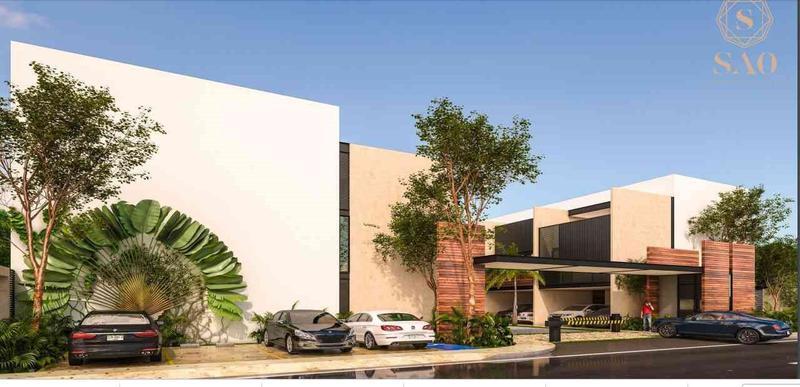 Foto Departamento en Venta en  Pueblo Temozon Norte,  Mérida  TownHouse en venta en privada acabados de lujo SOA