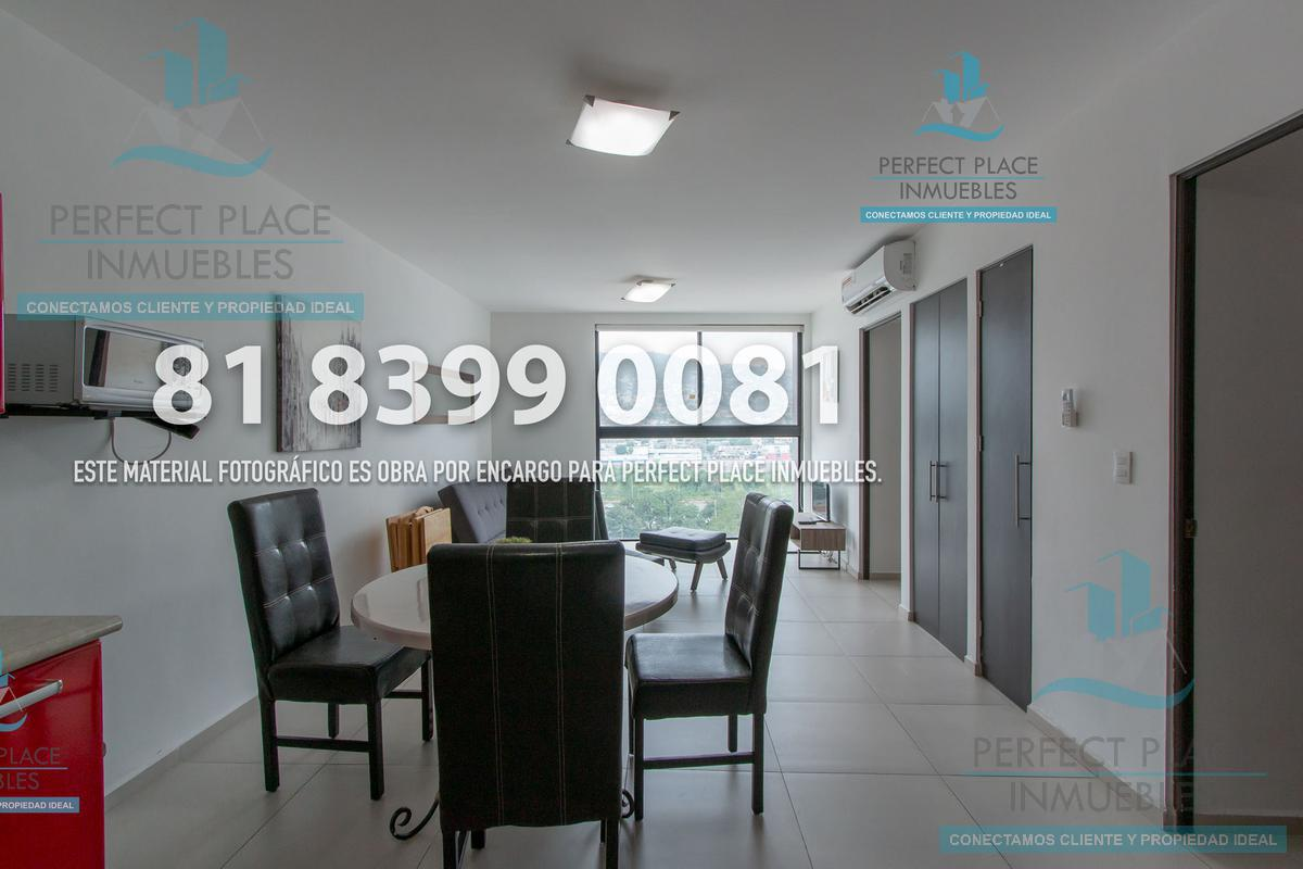 Foto Departamento en Renta en  Centro,  Monterrey  DEPARTAMENTO EN RENTA EN TORRE KYO MIDTOWN, CENTRO, MTY, N.L.