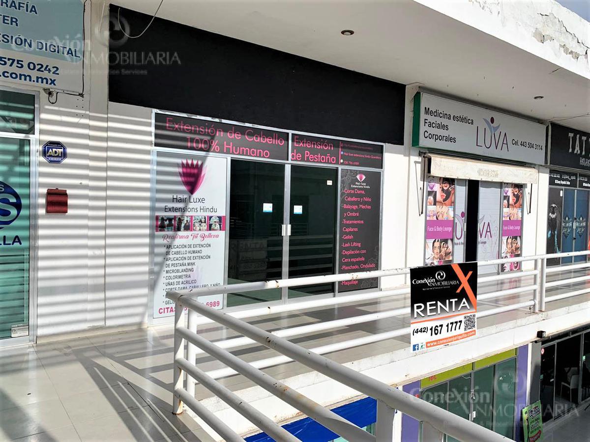 Foto Local en Renta en  Fraccionamiento Jurica La Solana,  Querétaro  Plaza Palmas Local