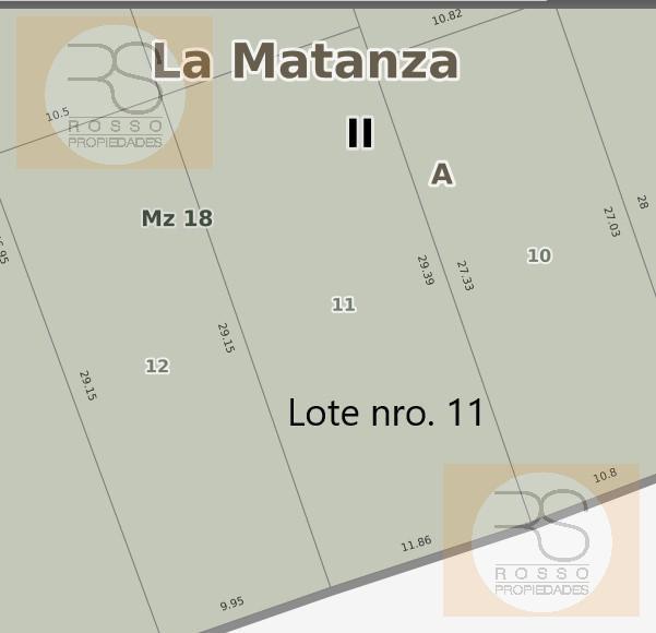 Foto Terreno en Venta en  Ramos Mejia Norte,  Ramos Mejia  Av. Gaona al 2300