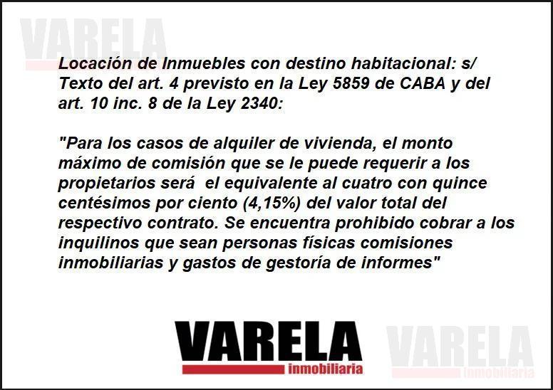 Foto Departamento en Alquiler en  Caballito ,  Capital Federal  Valentín Virasoro al 1000