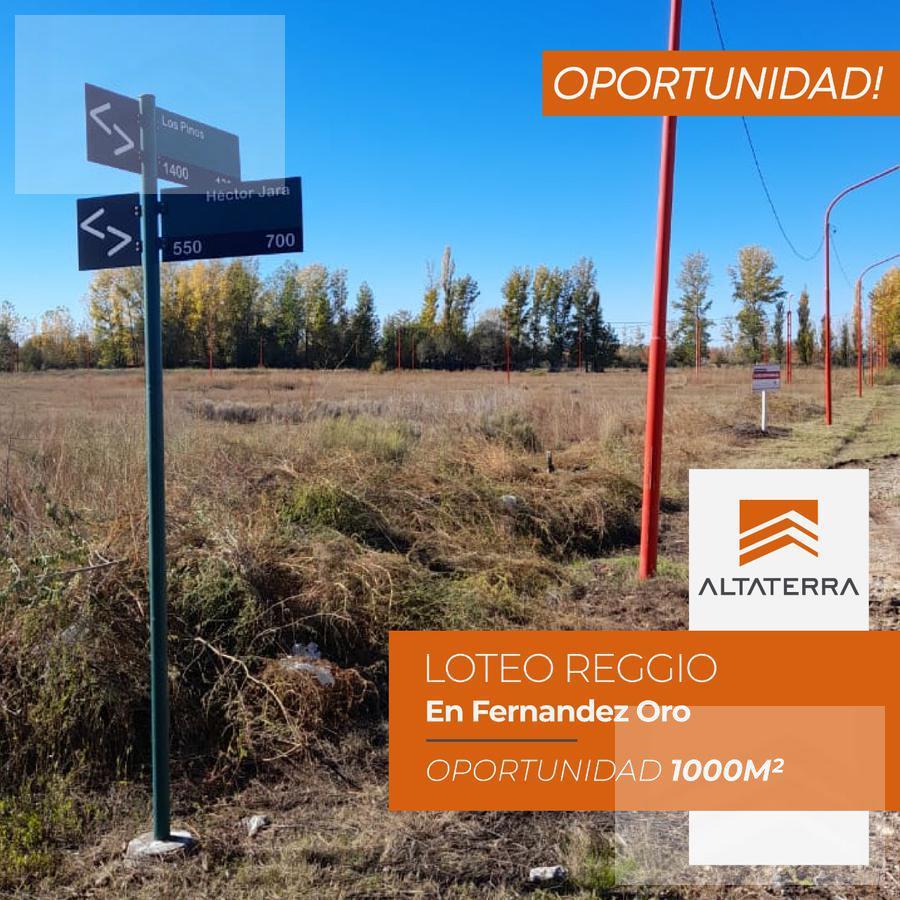 Foto Terreno en Venta en  General Fernandez Oro ,  Rio Negro  Fernandez Oro