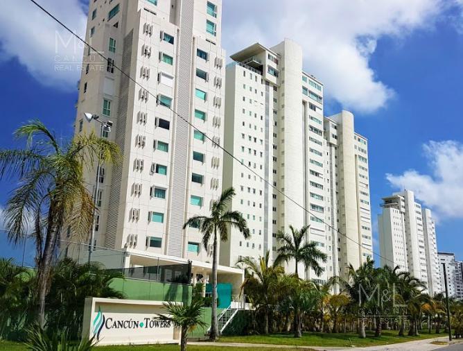Foto Departamento en Venta en  Puerto Cancún,  Cancún  Departamento en Venta en Cancun, CANCUN TOWERS de 2 recámaras
