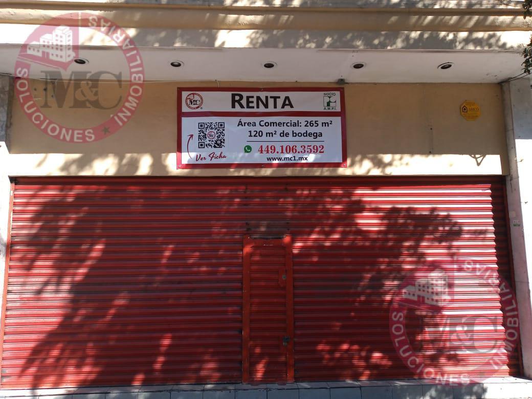 Foto Local en Renta en  Zona Centro,  Aguascalientes  Madero 214, Zona Centro a una cuadra de la plaza