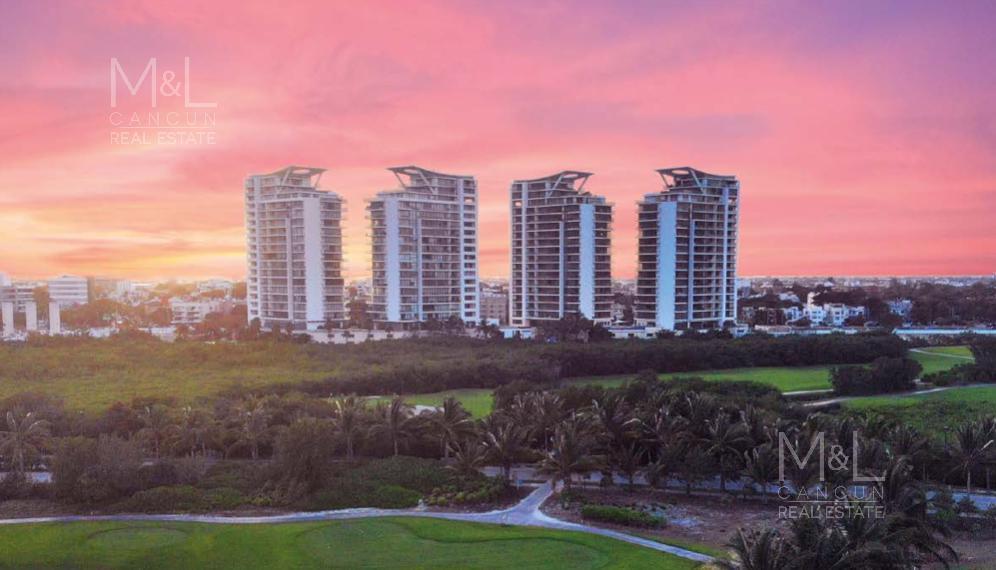 Foto Departamento en Venta en  Puerto Cancún,  Cancún  Departamento en venta en Cancún,  Be Towers, de Lujo,  2 recámaras,  202.41  m2, en Puerto Cancún