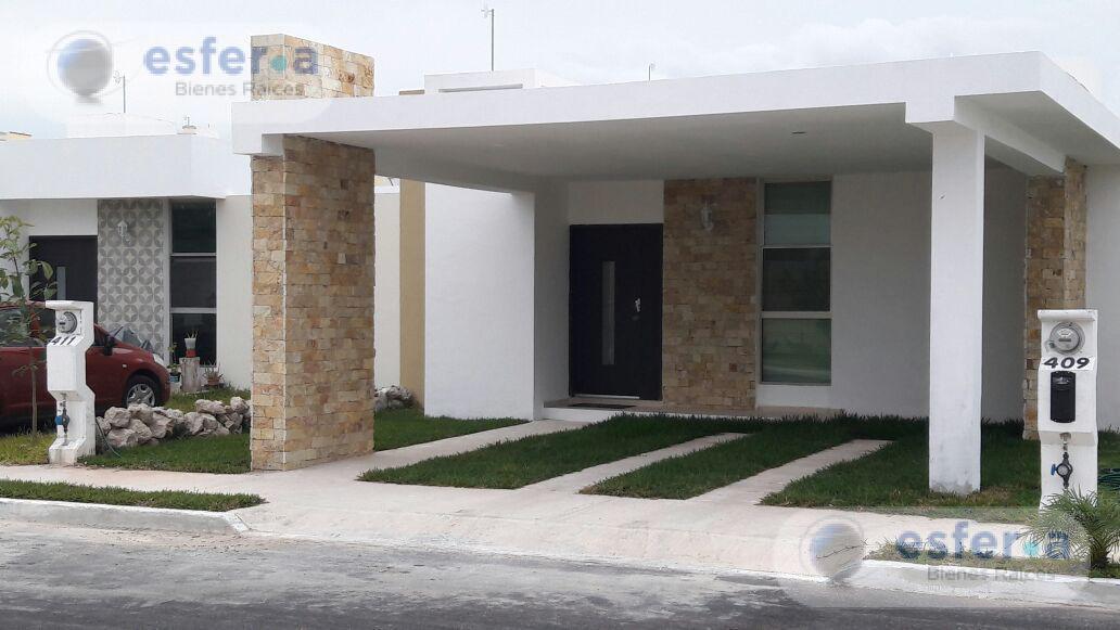 Foto Casa en Renta en  Fraccionamiento Gran Santa Fe,  Mérida  Casa en Renta en Gran Santa Fe, una planta,  Amueblada