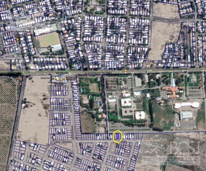 "Foto Terreno en Venta en  Rivadavia ,  San Juan  B° Jardines del Oeste - Mza ""F"" Lote N° 43"