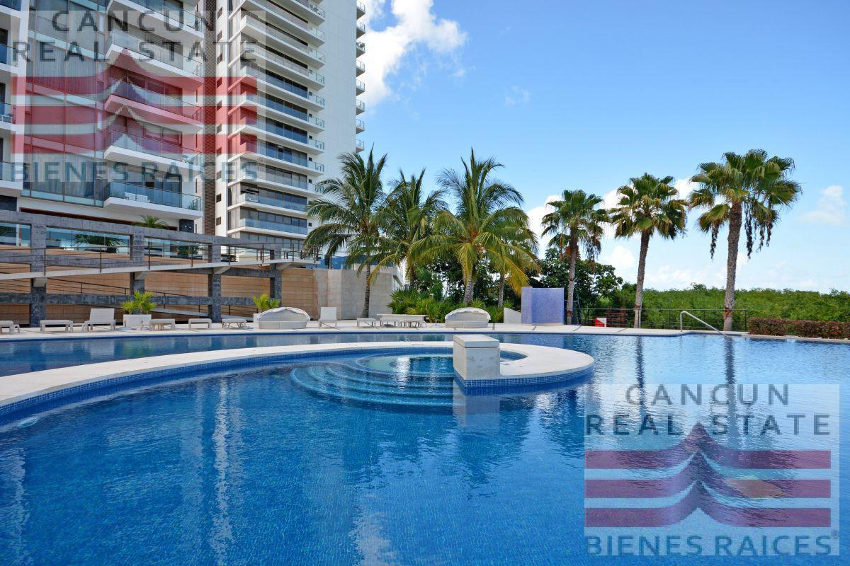Foto Departamento en Venta en  Puerto Cancún,  Cancún  Bonampak Be towers