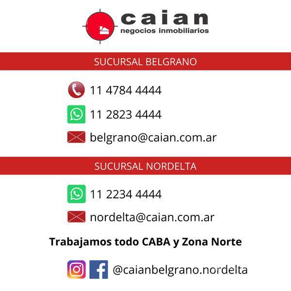 Foto Departamento en Venta en  Belgrano R,  Belgrano  Rómulo Naón al 2300, CABA