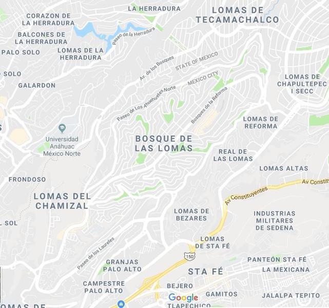 Foto Departamento en Venta en  Bosques de las Lomas,  Cuajimalpa de Morelos  Espectacular Garden House de 1,000 m2 en Bosques de las Lomas
