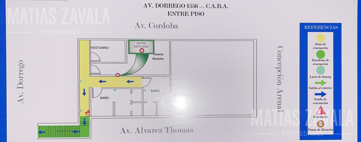 Foto Local en Alquiler en  Palermo ,  Capital Federal  Dorrego al 1500
