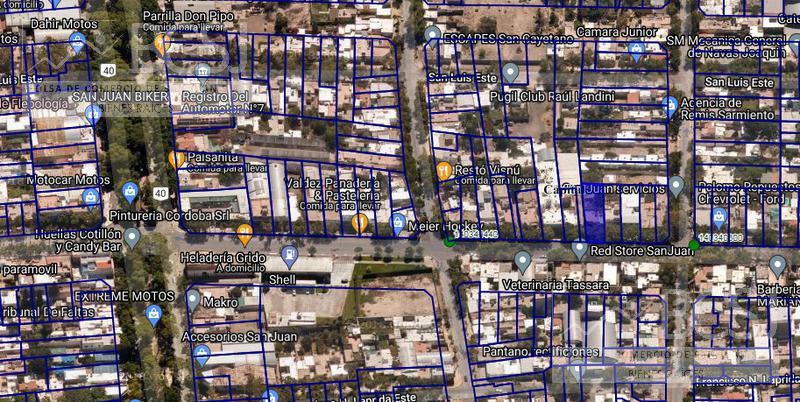 Foto Terreno en Venta en  Capital ,  San Juan  Av Libertador Gral San Martin entre P. Sanjuaninas y EEUU