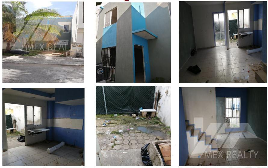 Foto Casa en Venta en  Playa del Carmen,  Solidaridad  CLAVE 55680 FRACCIONAMIENTO LAS PALMAS, PLAYA DEL CARMEN, Q. ROO, ESCRITURA CON POSESION $617,000 CONTADO MUY NEGOCIABLE