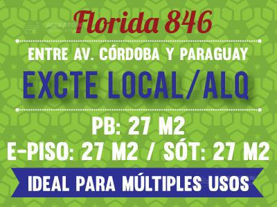 Foto Local en Alquiler en  Microcentro,  Centro (Capital Federal)  Florida al 800