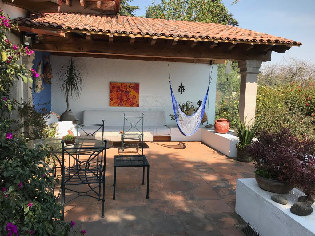 Foto Casa en condominio en Renta en  Contadero,  Cuajimalpa de Morelos  Casa en condominio con TERRAZAS a la renta en Contadero (AO)