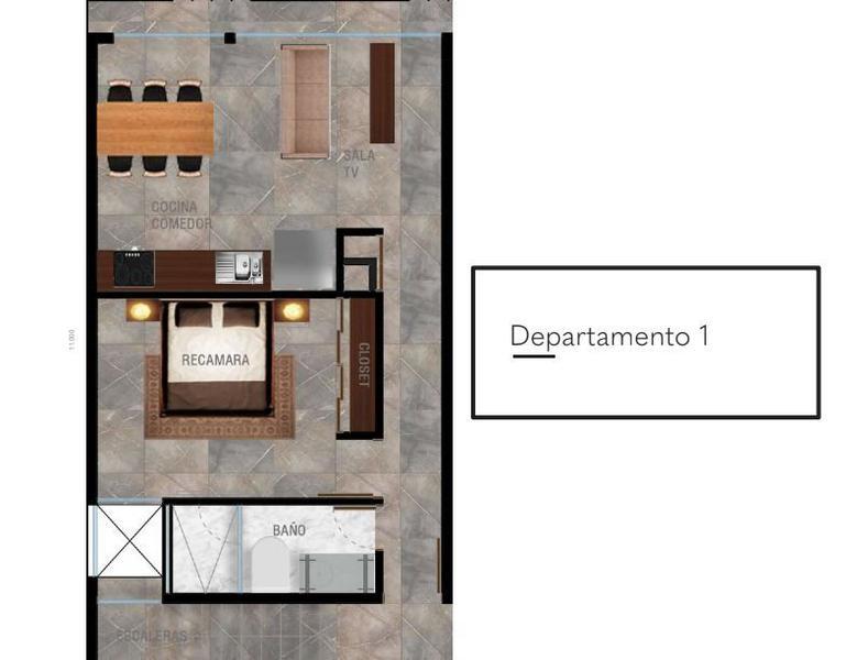 Playa del Carmen Apartment for Sale scene image 16