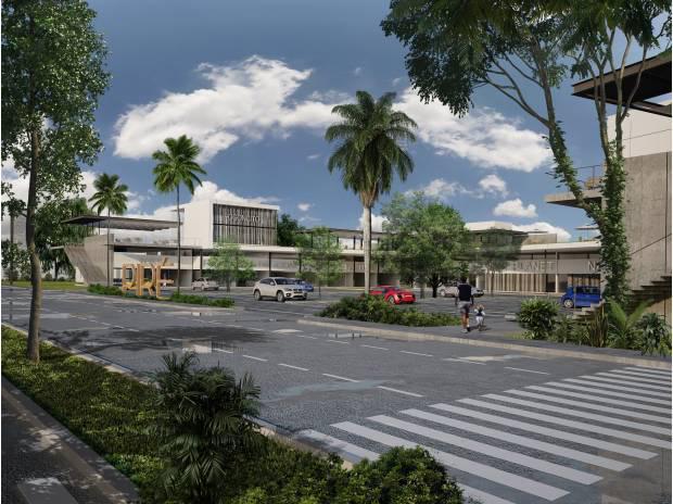 Plaza Pire en la zona Norte de Mérida