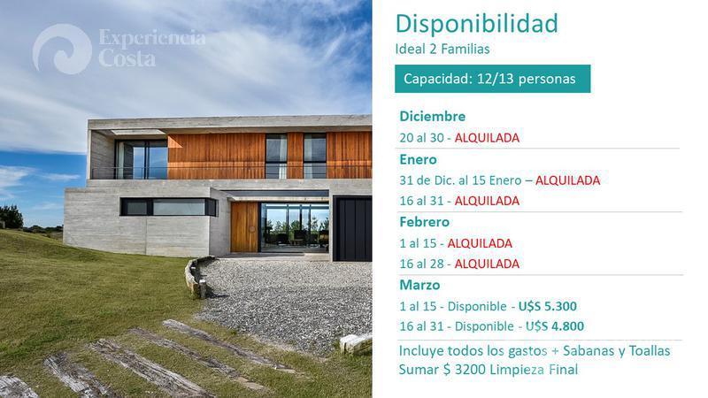 Foto Casa en Alquiler | Alquiler temporario en  Barrio Costa Esmeralda,  Pinamar  Golf II - Lote al 300