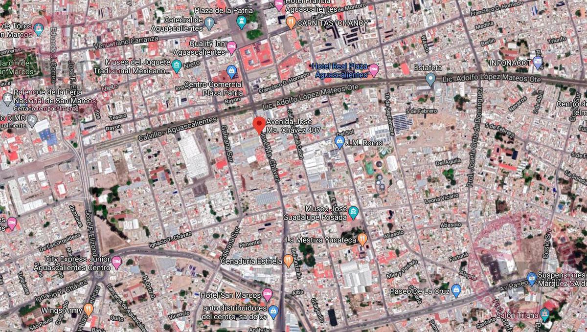 Foto Local en Venta en  Zona Centro,  Aguascalientes  Finca, edificio y local comercial, Centro Aguascalientes, Jose Ma Chavez MC Vende