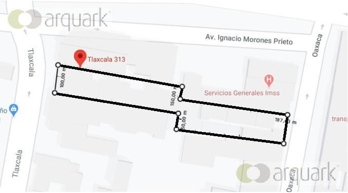 Foto Terreno en Venta en  Independencia,  Monterrey  Terreno Independencia cerca Morones Prieto. Alta plusvalía