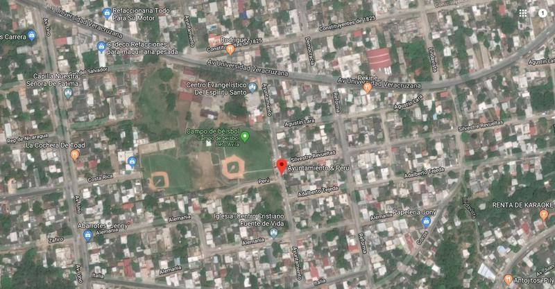 Foto Terreno en Venta en  Benito Juárez Sur,  Coatzacoalcos  Terreno Habitacional, Perú, Col. Benito Juarez Sur.