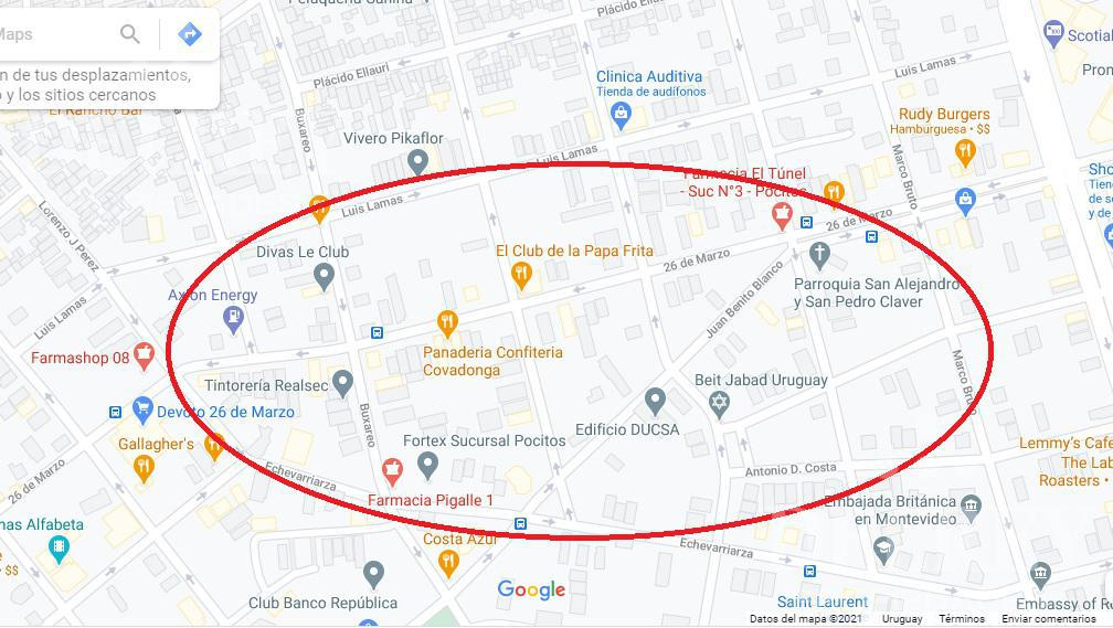 Foto Terreno en Venta en  Pocitos Nuevo ,  Montevideo  26 de Marzo y  Julio Cesar