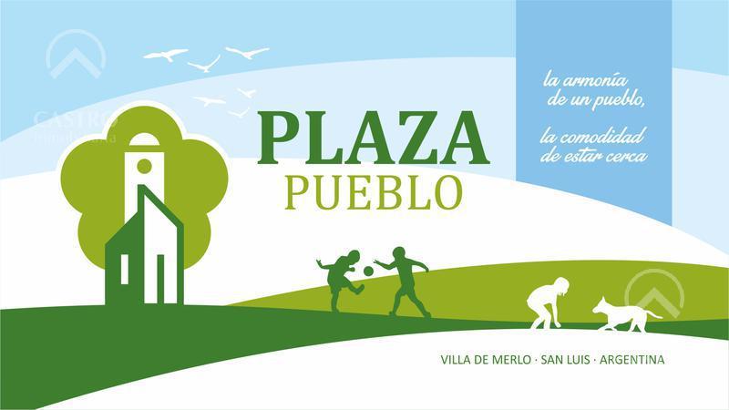 Foto Terreno en Venta en  Plaza Pueblo,  Merlo  Ruta Provincial 1