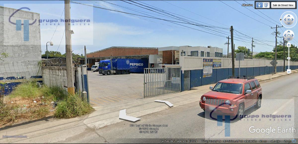 Foto Bodega Industrial en Renta en  Altamira ,  Tamaulipas  EXCELENTE BODEGA INDUSTRIAL CON OFICINAS, EN CARRETERA TAMPICO-MANTE KM 16 COL. LAGUNA DE LA PUERTA, ALTAMIRA, TAMAULIPAS. (ANTES PEPSICO)