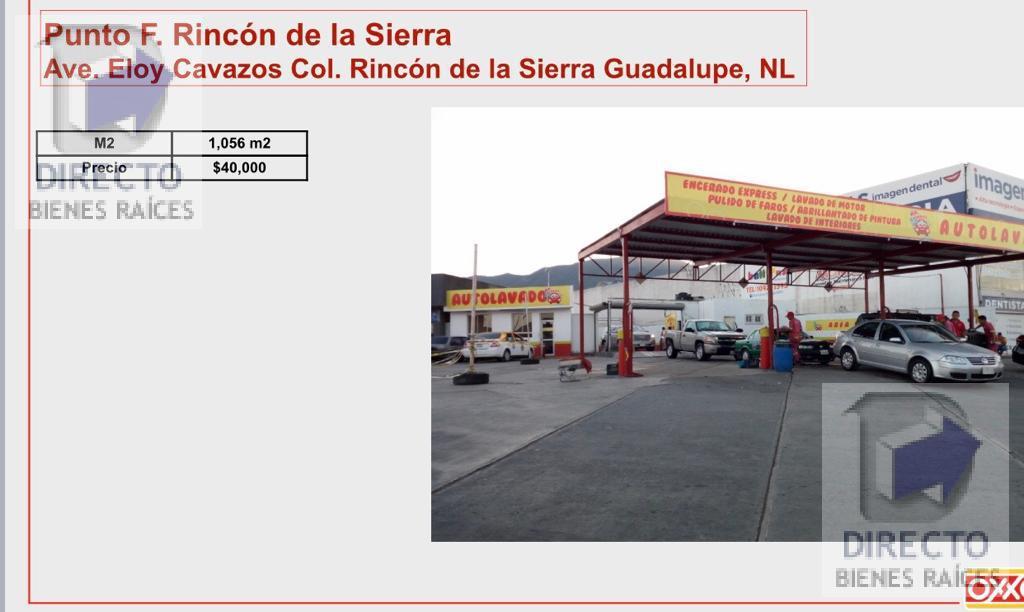 Foto Local en Renta en  Rincón de la Sierra,  Guadalupe  Av. Eloy Cavazos Col Rincón de la Sierra