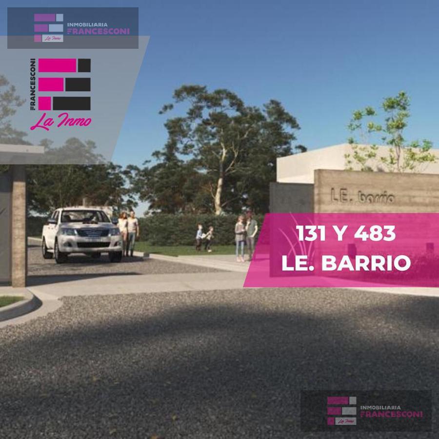 Foto Terreno en Venta en  Joaquin Gorina,  La Plata  483 y 131 (LE. barrio)