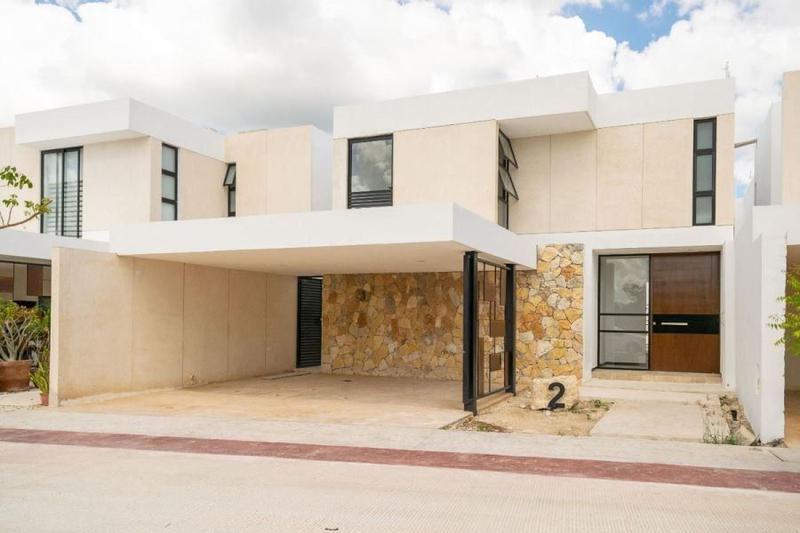 Foto Casa en condominio en Venta en  Temozon Norte,  Mérida  Simaruba Casa en venta Mod B Temozón Mérida Yucatán