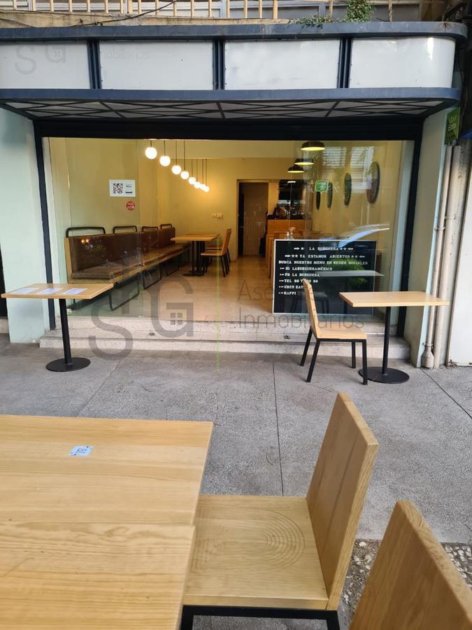 Foto Local en Renta en  Polanco I Sección,  Miguel Hidalgo  SKG Asesores Inmobiliarios Renta con traspaso Local para Restaurante en Lope de Vega, Polanco
