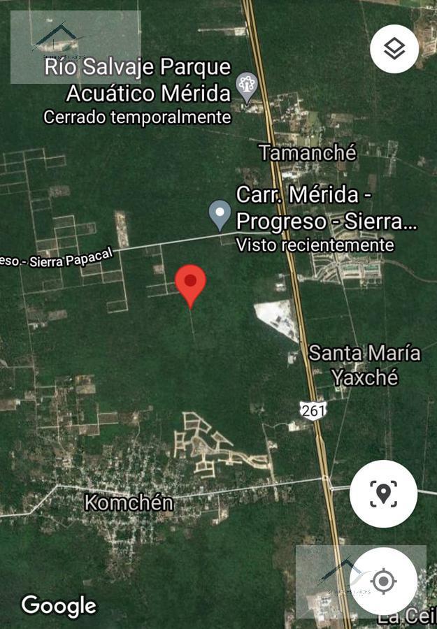 Foto Terreno en Venta en  Pueblo Komchen,  Mérida  Komchen dos Dos lotes en venta de 200 por 100 mts