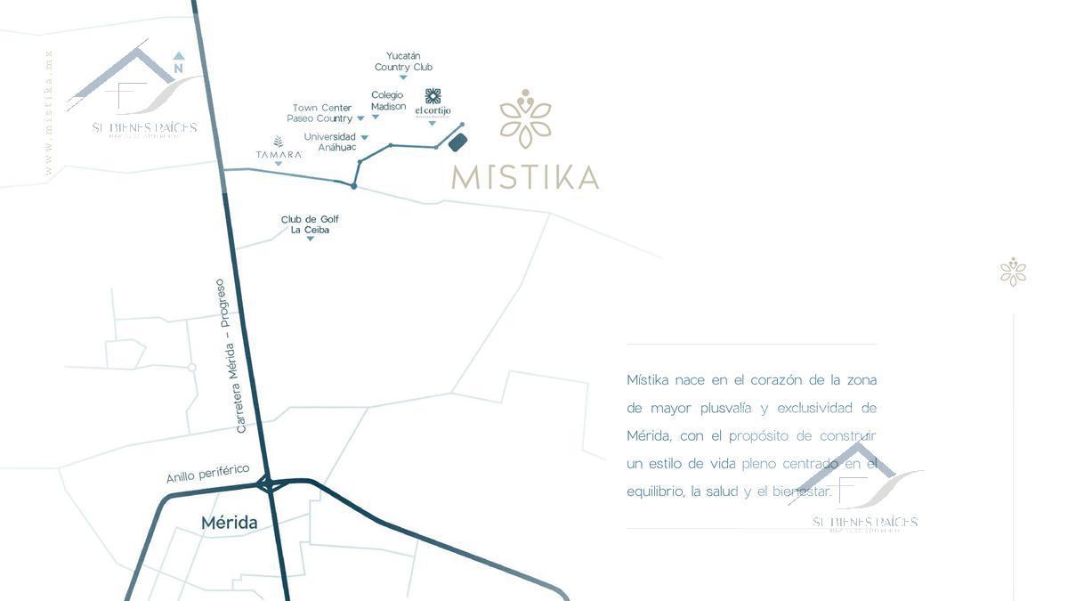 Foto Terreno en Venta en  Pueblo Chablekal,  Mérida  Mistika: Lotes residenciales
