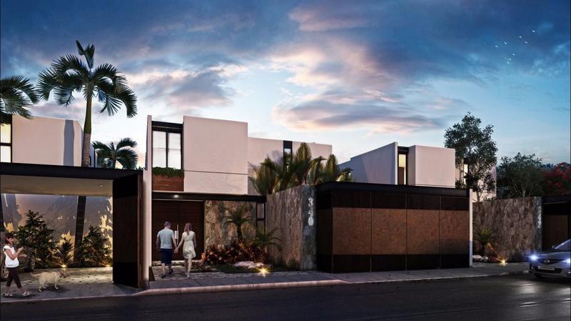 Foto Casa en Venta en  Núcleo Sodzil,  Mérida  Casa en venta en Mérida Zona Norte 2 plantas, Alberca,acabados de lujo