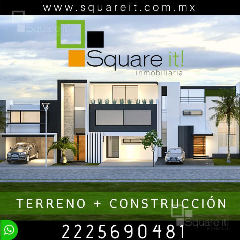Foto Casa en Venta |  en  Fraccionamiento Lomas de  Angelópolis,  San Andrés Cholula   Construcción Casa en terreno de 200 m2  en Lomas de Angelópolis
