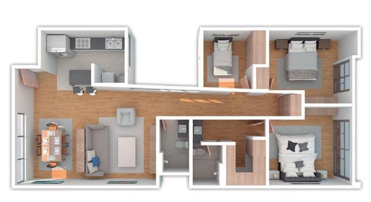 Foto Departamento en Venta en  Benito Juárez ,  Ciudad de Mexico  SKG Vende Departamentos en Colonia Del Valle Norte de 114.75 m2,nuevos