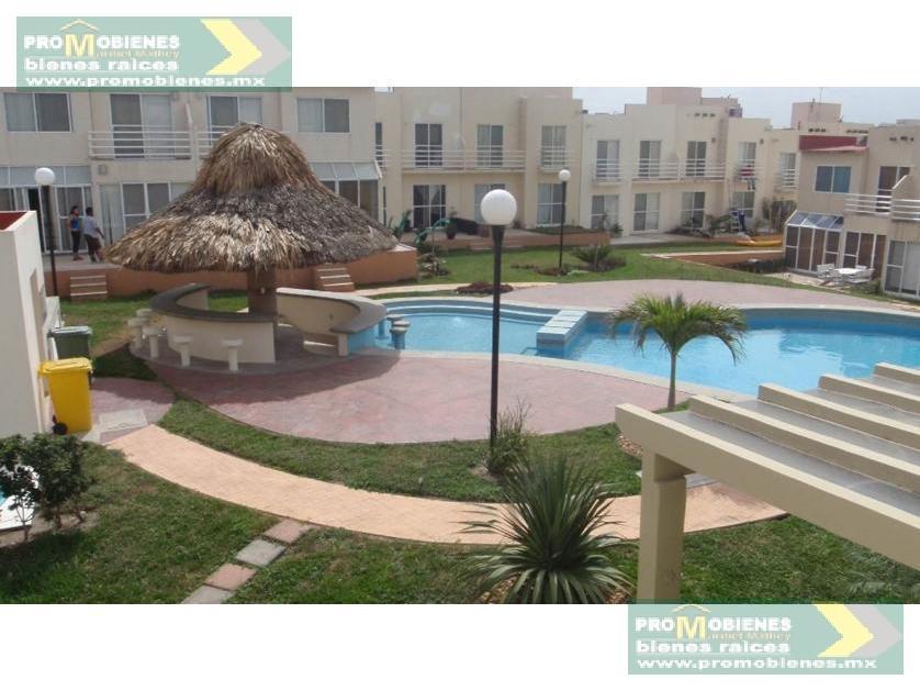 Foto Casa en Renta en  Fraccionamiento Playa Dorada,  Alvarado  CASA EN RENTA EN FRACC PLAYA DORADA