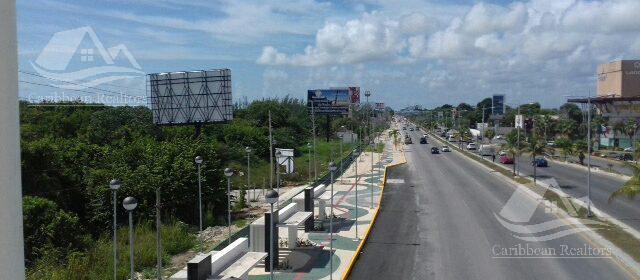 Foto Terreno en Venta en  Cancún ,  Quintana Roo  TERRENO EN VENTA EN CANCÚN/BLVD COLOSIO