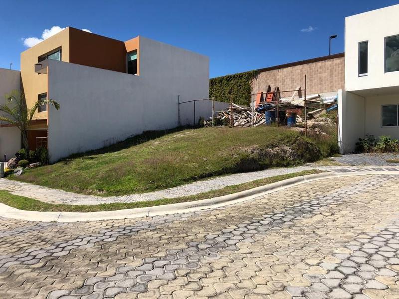 Foto Terreno en Venta |  en  San Andrés Cholula ,  Puebla  Terreno en Venta Retorno de los Pirineos 193, Clúster 10.10.10 Lomas I