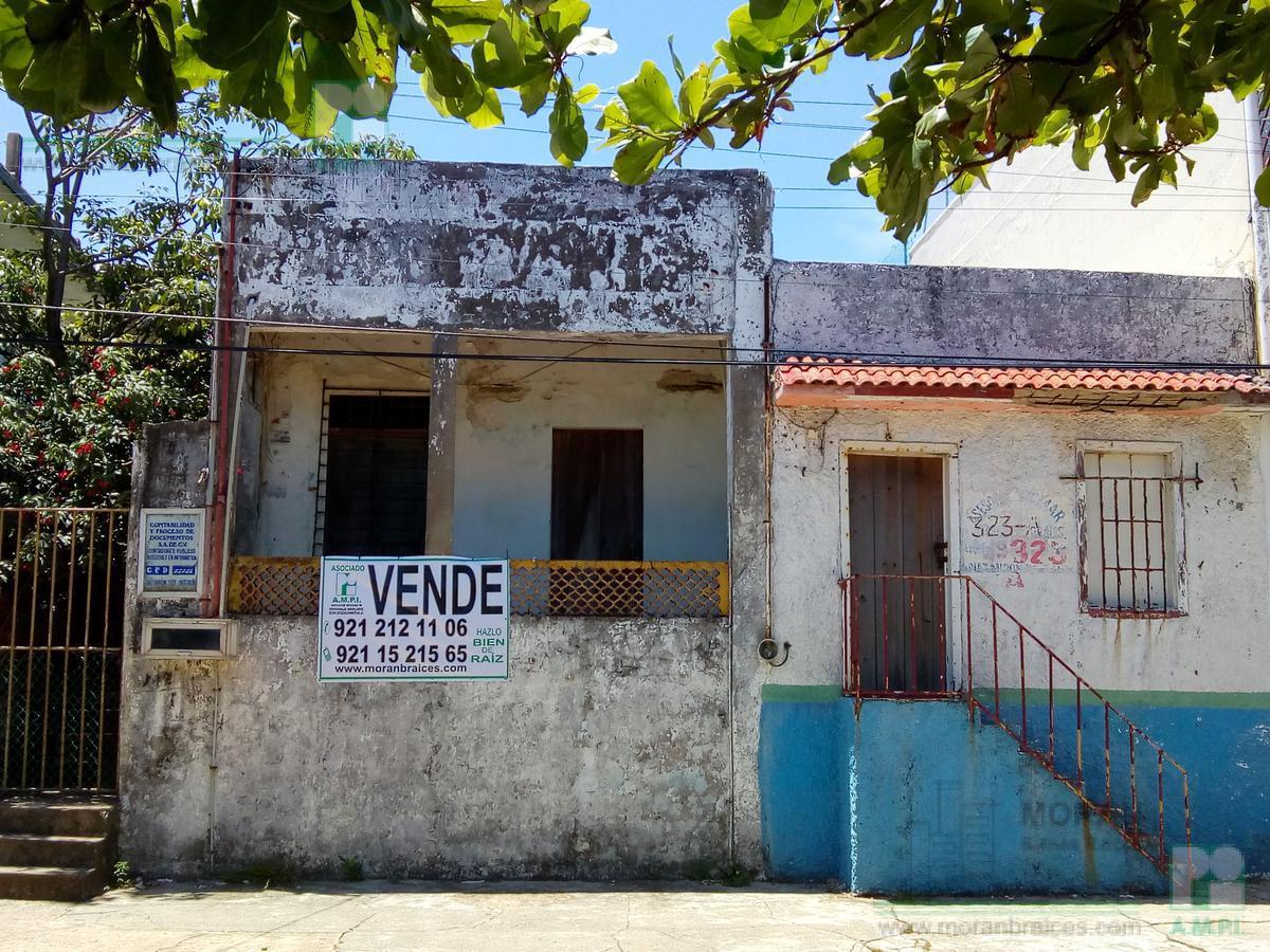 Foto Terreno en Venta en  Coatzacoalcos Centro,  Coatzacoalcos      Diaz Mirón No. 323, Zona Centro,  Coatzacoalcos, Ver.