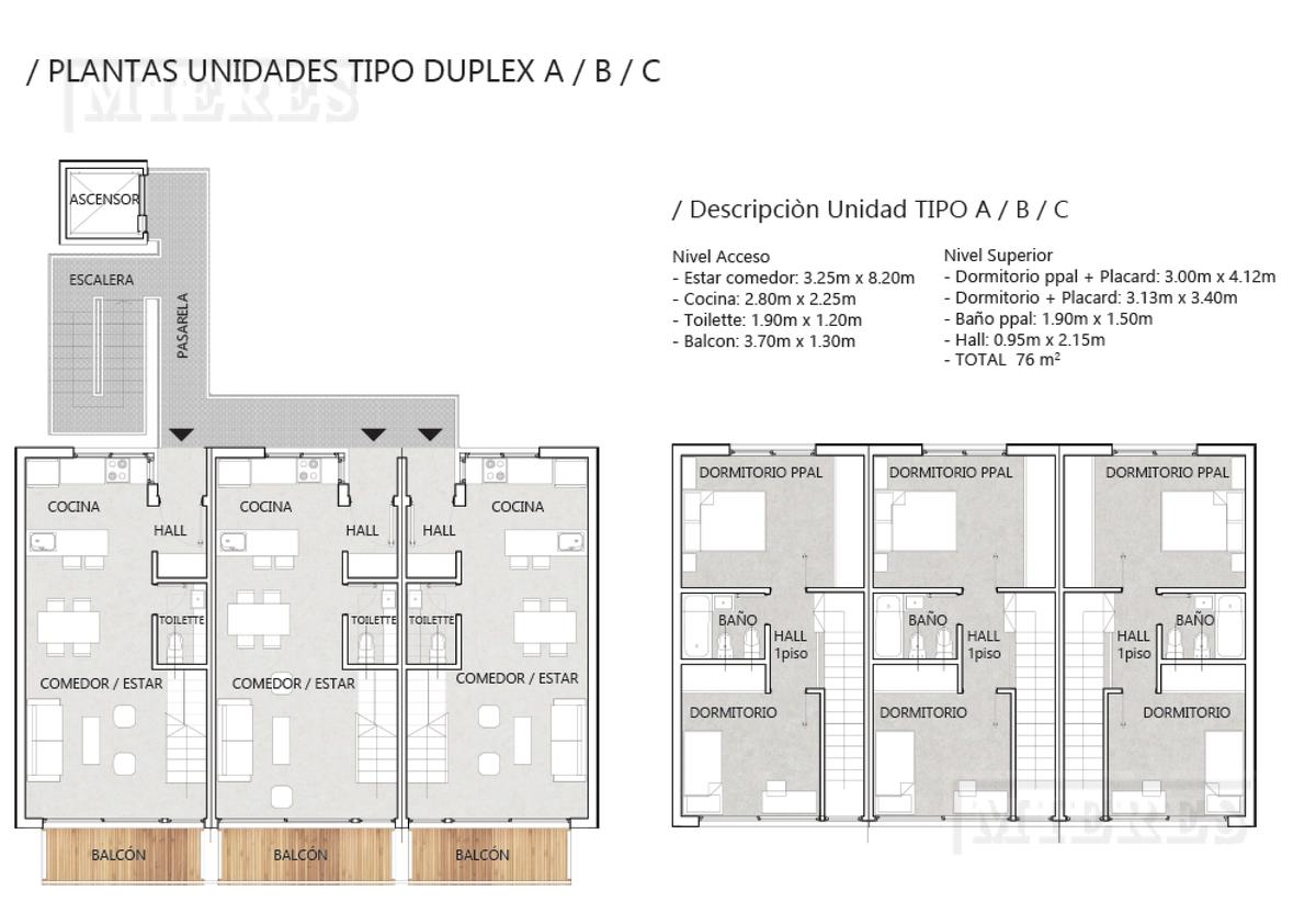Edificio Rivadavia - Departamento tipo duplex de pozo
